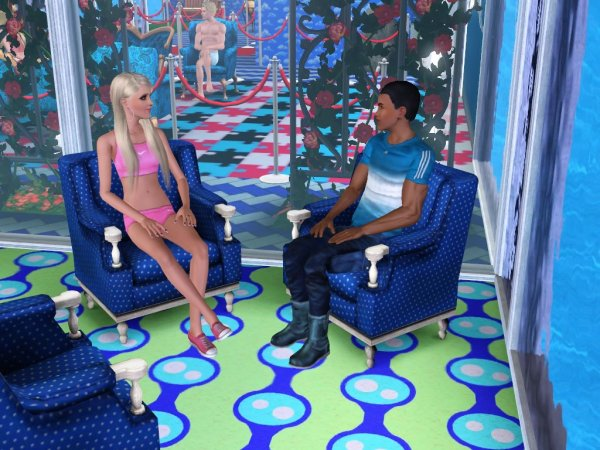 Secret Story Sims UnderWater Saison 1 Quotidienne 8 Part 2