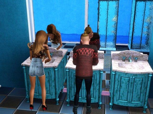 Secret Story Sims UnderWater Saison 1 Quotidienne 9 Part 1