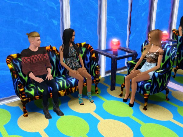 Secret Story Sims UnderWater Saison 1 Quotidienne 10 Part 1
