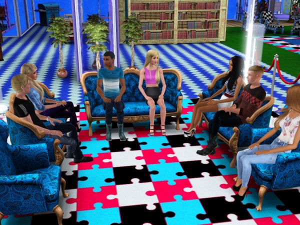Secret Story Sims UnderWater Saison 1 Quotidienne 11 Part 1