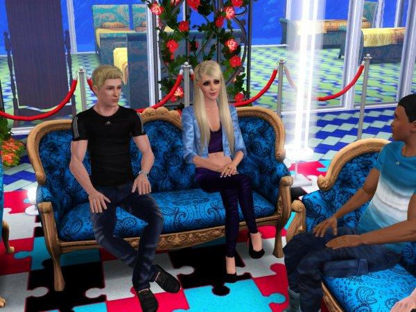 Secret Story Sims UnderWater Saison 1 Quotidienne 11 Part 1