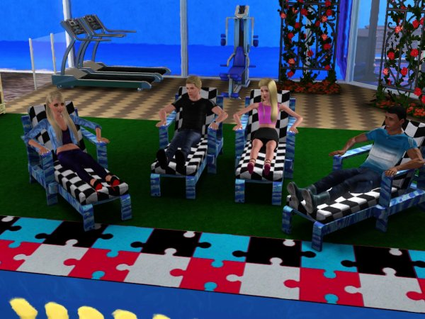 Secret Story Sims UnderWater Saison 1 Quotidienne 11 Part 2