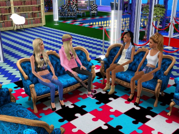 Secret Story Sims UnderWater Saison 1 Quotidienne 16 Part 1
