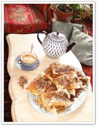 Beghrir au miel et aux fruits secs
