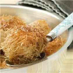 Qtayef (gâteaux aux cheveux d'ange)