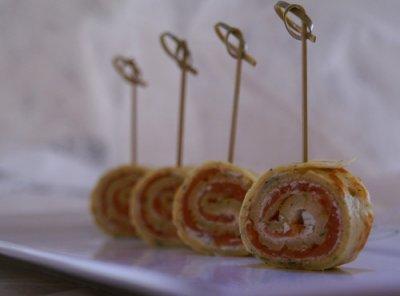 Brochettes aux 2 saumons