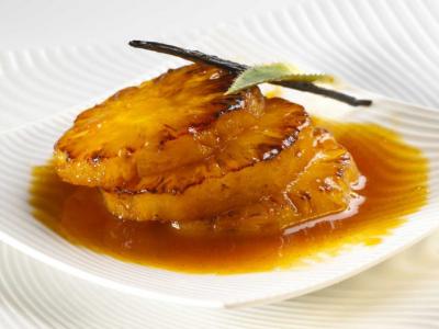 Ananas Flambé