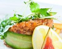 Courgettes au saumon