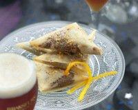 Samoussas choco-orange