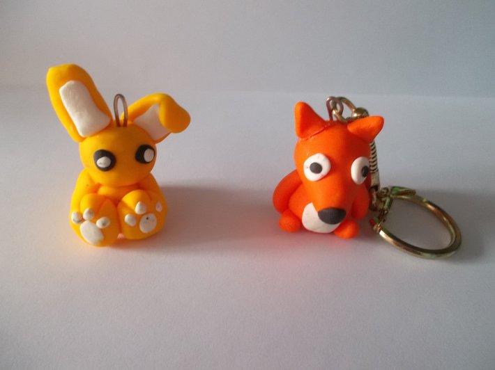 Le lapin et le renard.