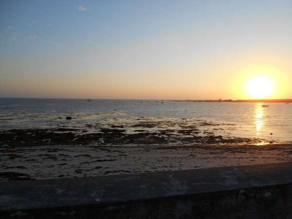 Couché de soleil en Penmarc'h