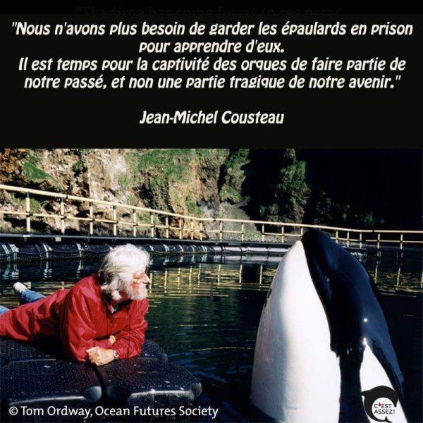 Jean Michel Cousteau Et Keïko