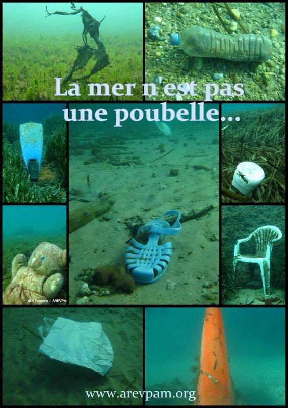 La Mer n'est pas une poubelle