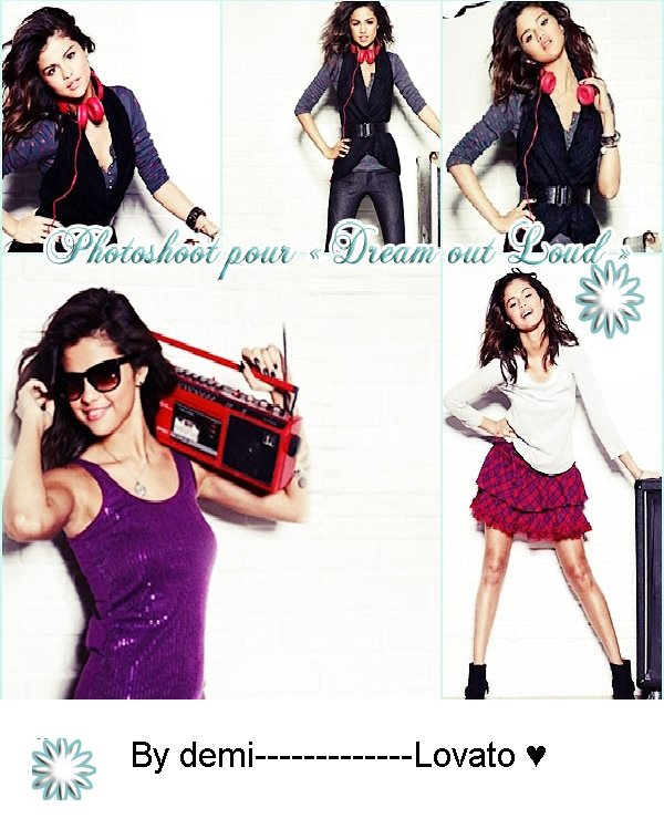 Decouvre Le nouveau Photoshoot de selena de Dream Out Loud