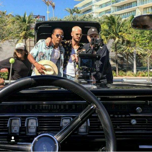 A Miami pour le nouveau clip