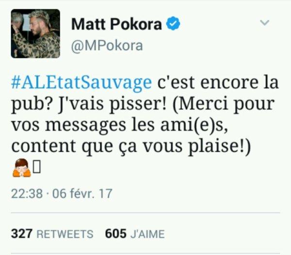 Tweet de Matt