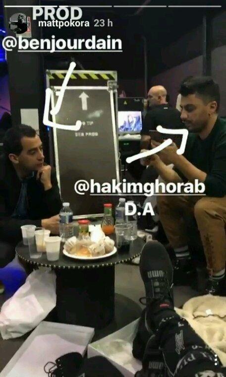 Matt Hakim et Ben jourdain