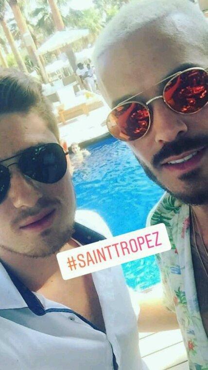 Matt a Saint Tropez