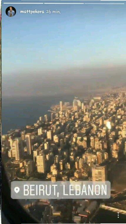 Arriver a Beirut