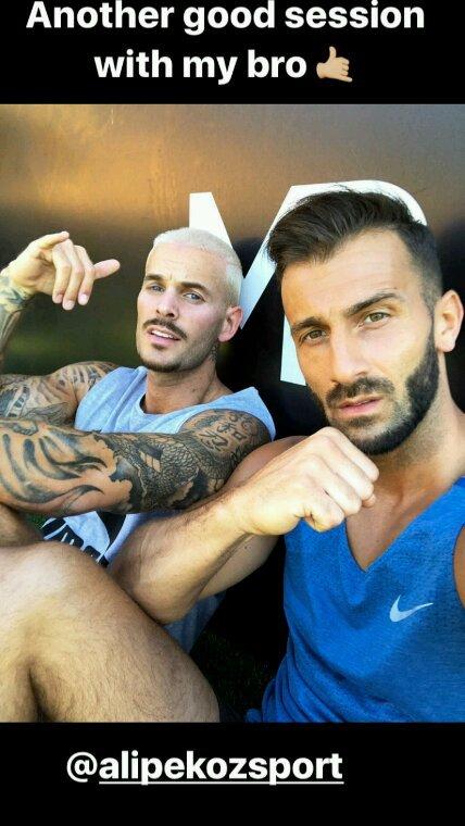 Matt et son coach de sport