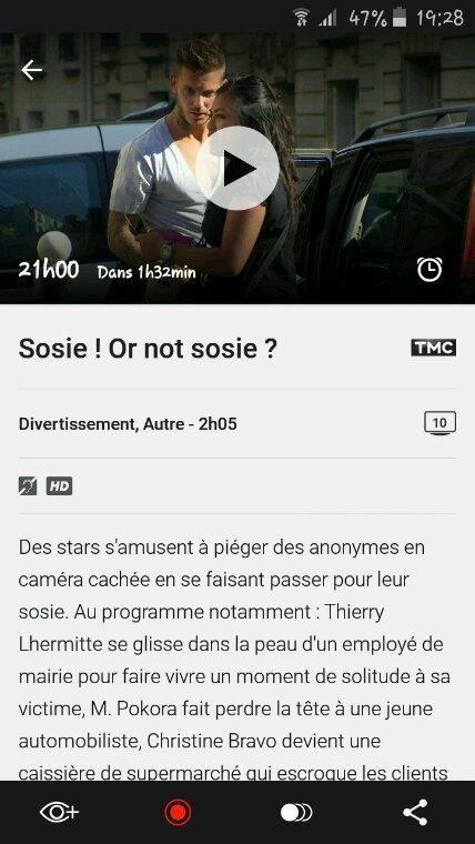 Sosie Or Not Sosie ?