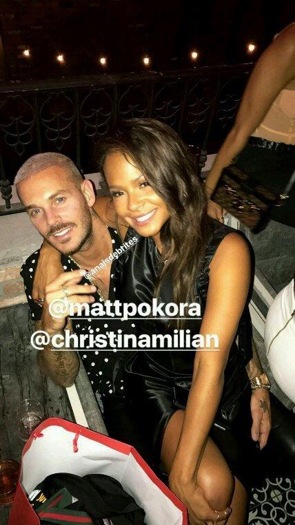 Matt et Christina Milian