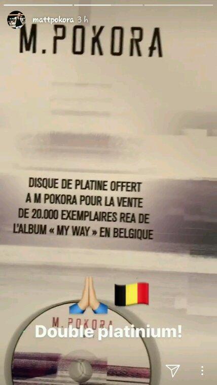 Double Disque De Platine