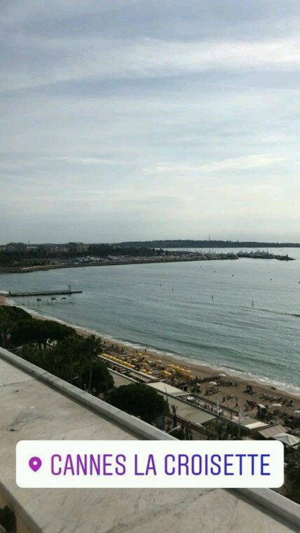 Arriver a Cannes