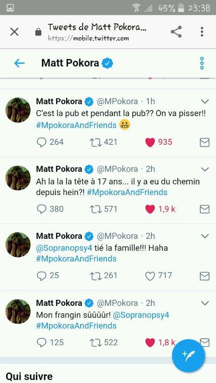 Les Tweet de Matt