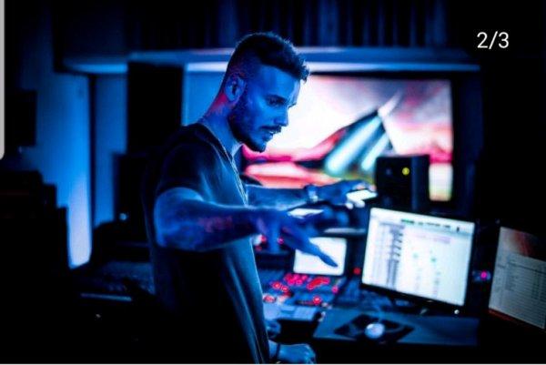 Matt au studio