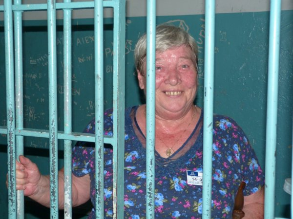 moi en prison a Trois Rivières