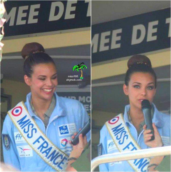Le 21/07/2013: Marine ( notre miss france ) a assister à un meeting aérien.