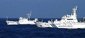 """Une frégate chinoise é """"verouillé une cible"""" japonaise au large des îles Senkaku"""