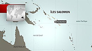 Violent séisme demagnitude 8 aux îles Salomon