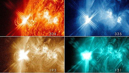 La Nasa annonce une quatrième éruption solaire en l'espace de deux jours