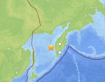 Breaking news: Séisme de 8.2 en Russie, alerte tsunami lancée