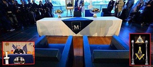 Premier mariage gay franc-maçon dans la ville Templière de Montpellier