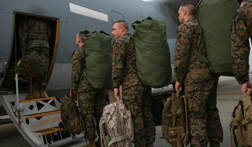 La marine américaine prête au déploiement vers l'Égypte