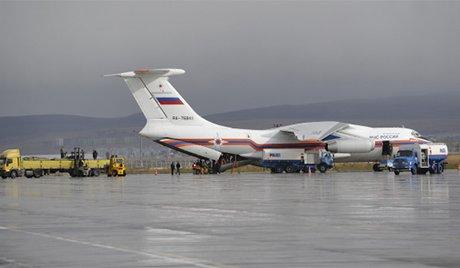 Un autre groupe de sauveteurs est allé à l'Extrême-Orient russe