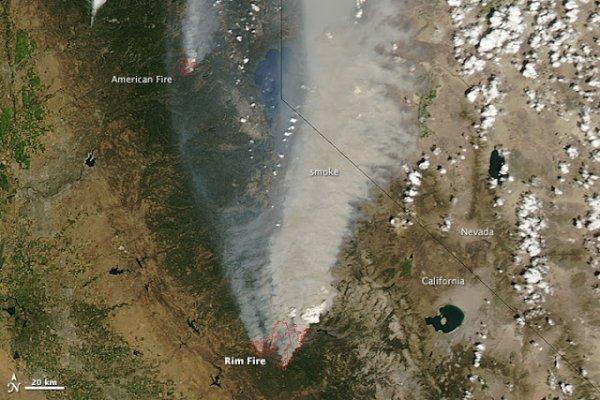 Feux de forêt : L'état d'urgence décrété à San Francisco
