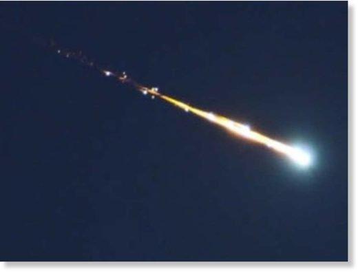 BIG ONE MONDIAL IMMINENT ET FIN DE VIE SUR TERRE ! ARRIVEE DE NIBIRU :Une boule de feu fend le ciel de la Colombie-Britannique, la deuxième en 15 jours