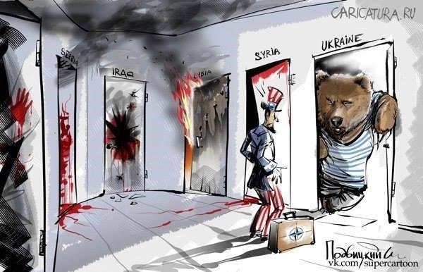 """3 GUERRE MONDIAL 2017 EN MARCHE : Attaque """"chimique"""": les Etats-Unis menacent la Syrie d'une réponse militaire"""