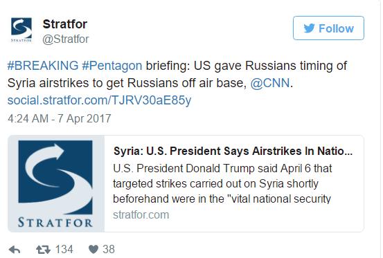 3 GUERRE MONDIAL 2017 EN MARCHE : Hillary sort de son trou pour appeler les États-Unis à détruire les bases aériennes d'Assad. Trump obéit et fait tirer 59 missiles Tomahawk sur une base aérienne syrienne