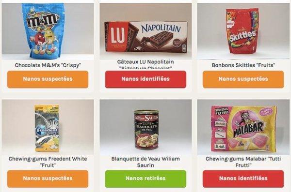 FIN DE VIE SUR TERRE ORGANISEE : Liste des produits pouvant contenir des nanoparticules selon l'association Agir pour l'Environnement