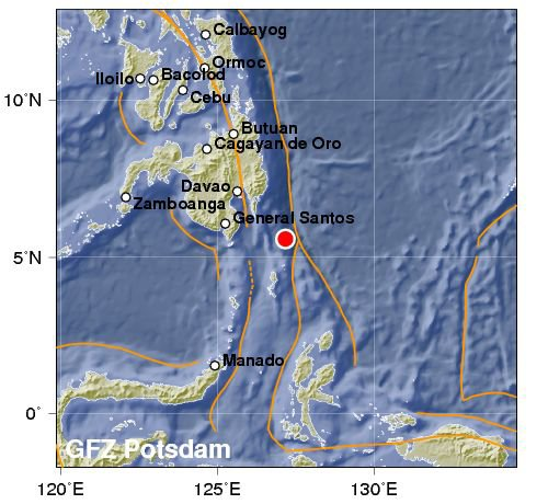 BIG ONE MONDIAL IMMINENT ET FIN DE VIE SUR TERRE ! ARRIVEE DE NIBIRU :Séisme de magnitude 6,1 au large des Philippines