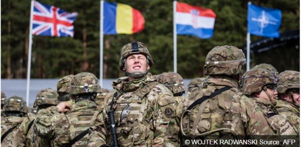 3 GUERRE MONDIAL 2017 EN MARCHE : L'OTAN déploie un bataillon multinational en Pologne