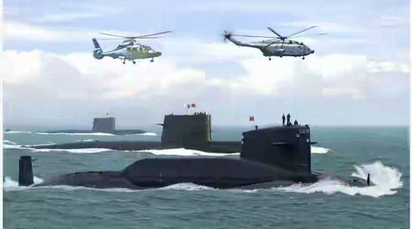 3 GUERRE MONDIAL 2017 EN MARCHE : La Chine met en alerte ses submersibles nucléaires