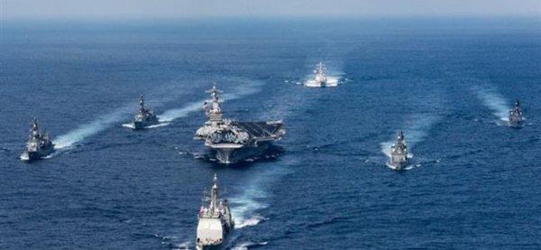 3 GUERRE MONDIAL 2017 EN MARCHE : Corée du nord: Pékin et Moscou envoient des navires pour surveiller les agissements du groupe aéronaval américain