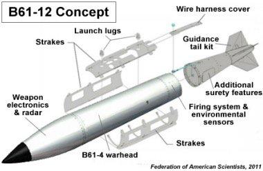 3 GUERRE MONDIAL 2017 EN MARCHE : Escalade nucléaire en Europe : la bombe B61-12 est testée