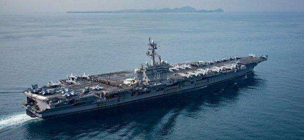 3 GUERRE MONDIAL 2017 EN MARCHE :Invisible Armada : y a-t-il un porte-avions dans le Pacifique ?